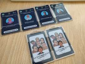 Cetak Id Card Desain Keren Lampung