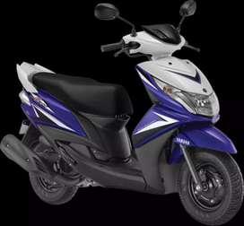 Yamaha Ray Z  pay RS.3333 (full tank petrol free)