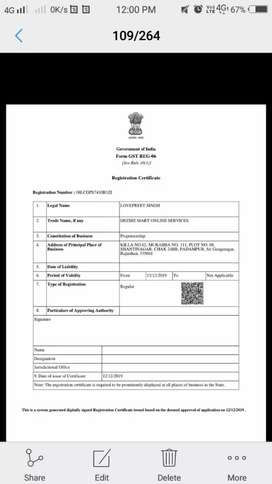 GOVT. OF INDIA REGISTERED COMPANY PROVIDE WORK FROM HOME