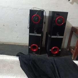 Tower speaker  full DJ voice clear 101% full great sound