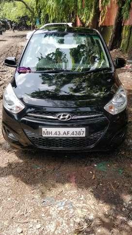 Hyundai i10 magna CNG registered 2011 single owner