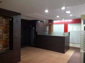 Office for rent dugri phase 1 semi furnished