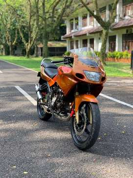 kawasaki ninja RR langka asli warna orange simpanan