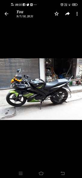 R15s black and green