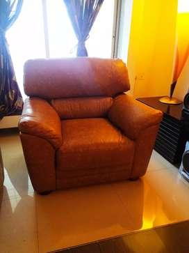 Imported art leather sofa 3 plus 2 plus 1 seater