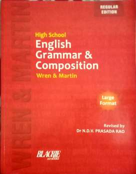 HIGH SCHOOL ENGLISH GRAMMAR &COMPOSITION  by WREN AND MARTIN