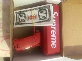 Cash cannon machine