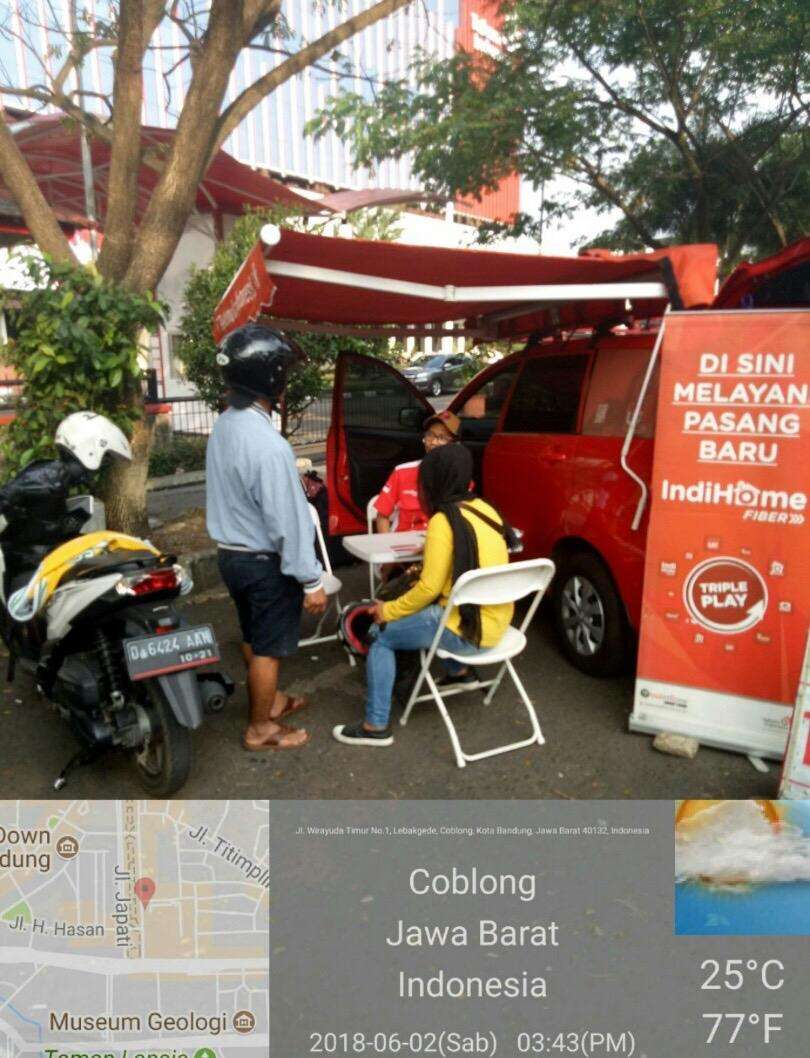 INTERNET WIFI murah INDIHOME, All-Bandung & sekitarnya! Promo Boss..! 0