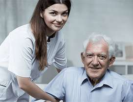 Requirement of oldage care and cooking