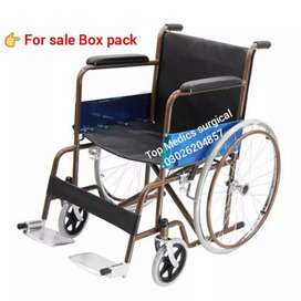 Wheel Chair imported disable person Hospital wheelchair