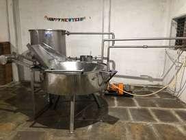 Chips / Kurkure Industrial Fryer & Complete Plant