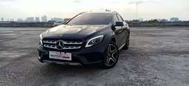 Mercy Gla200 Amg 2019 nik 2018 Black Km 3rb Antiik Panoramic Eseat