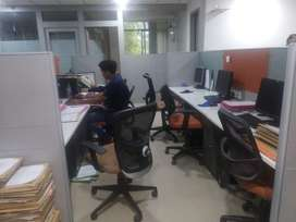 1700 Sq.ft Furnished Office Space Located In Prabhat Road