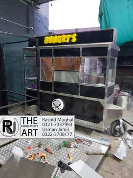 Food Cart  ,Fast Food Counter