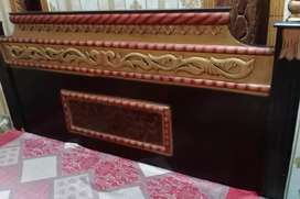 Double Bed with Diamond mattress