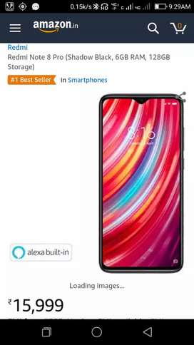 Redmi note 8 pro shiled pack 6gb 128gb