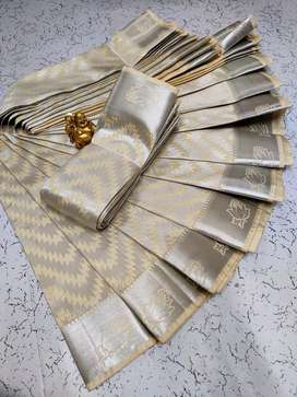 Korvai kotanji Trendy & Fancy bhutta and Silk Cotton Sarees