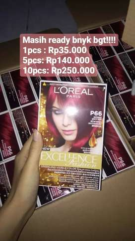 Loreal New Exellence Fashion—P66 Intense Spicy Red (Cat Rambut)