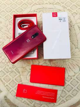 New One Plus 7 256GB Red colour 3 Month old