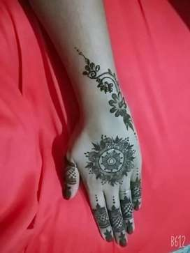 Mehandi drawing