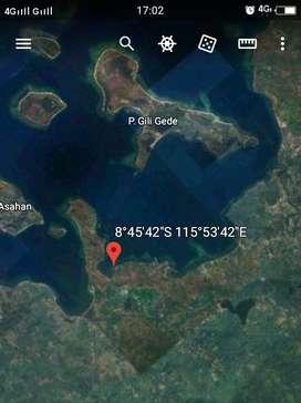 Tanah pinggir pantai Sekotong