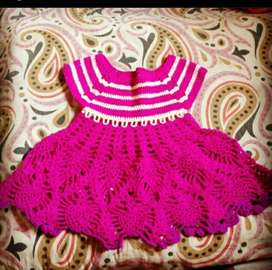 A beautiful frock  for baby