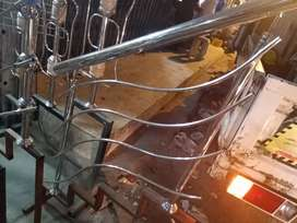 S.S Stair Railing, Fancy railing Glass Railing Tempered Glass