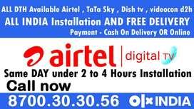 Airtel DTH Dishtv Tatasky Dish tv tata sky airtel xstream Videocon d2h