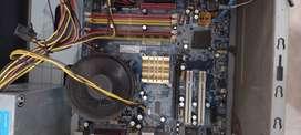 Motherboard processor ram