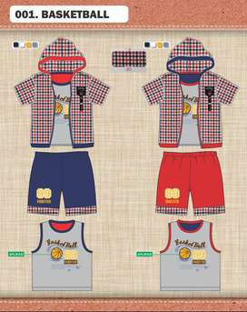 Freelance Desain Grafis baju anak-anak