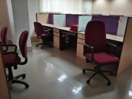 Full furnished office available for rent for good companies.
