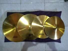 Cymbalset CCR ( bahan tebel Sound OK )