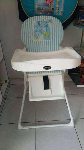 Pliko High Chair Baby Second- Kursi Makan Bayi Bekas
