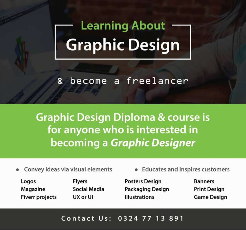 Graphic Design (Tutor Available) 0
