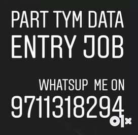 Part time Home based work online ad posting jobs & data entry job 1000