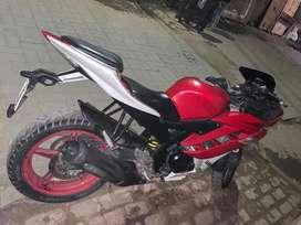 R15 v2 , red white colour