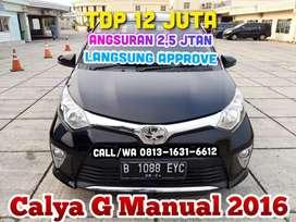 Daihatsu Calya G Manual 2016/2017, kredit murah TDP 12 jt angs.2,5 jt
