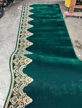 Karpet roll masjid tebal 16mm tinggi 120