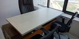 new furnished office at o p road vadodara