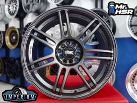 velg mobil ring 18 untuk Xpander, Innova, Rush, Terios, Hrv, Accord