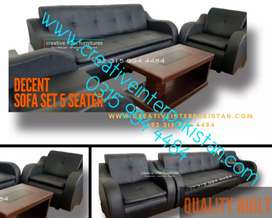 Beautifullydecent Sofa Set 5 Seater modernconcpt bed Study Table Chair