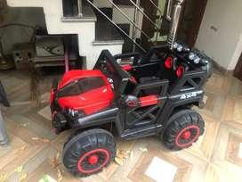 Toy car jeep