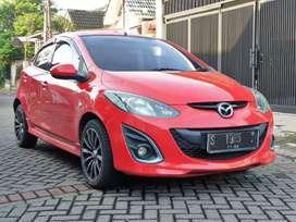 [ kredit dp 25jt ] Mazda 2 R Manual 2011 Merah Ferrari S Matic