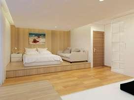 Design Loveling Tempat Tidur dan Panel Tempat Tidur