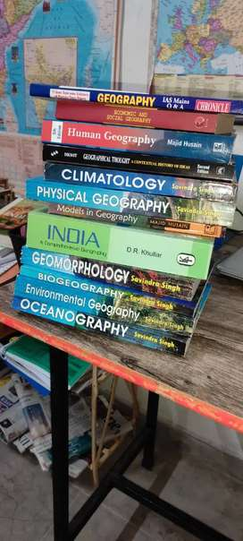 New geography optional book