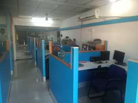 500 sqft or 1000 sqft Furnished A/c Office Space For Rent Thrissur