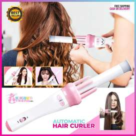 Automatic Wave Curl Electric Ceramic Hair Curler Rollers Curling Iron