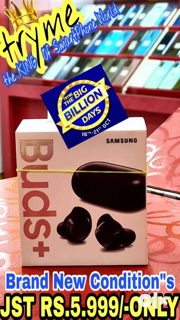 """TRYME SAMSUNG BUDS+ Pluss,Fresh Condition""""s So Dont Miss It 0"""