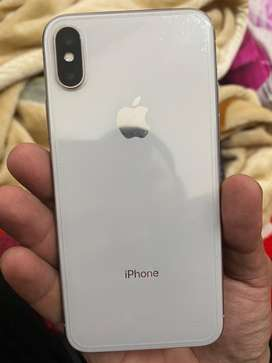 I phone x 1.5 year old white colour 64gb