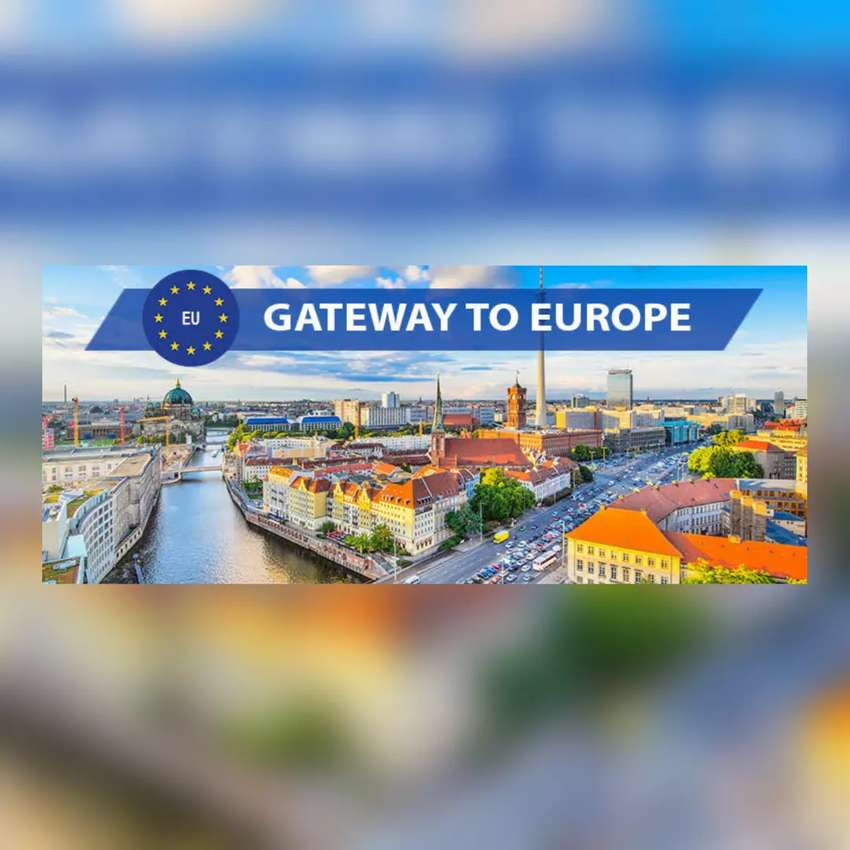 WORK WITH STUDY VISA AND ENTER EUROPE